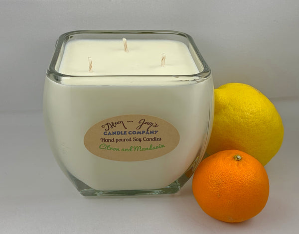 Citron and Mandarin - Mam Jam's Candle Company