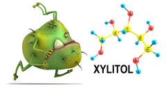 Xylitol kills bacterial plaque even if you have braces