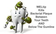Gum disease is caused by bacterial plaque