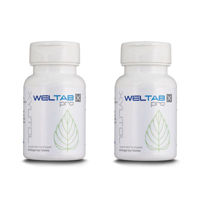 WELTAB water flosser tablets