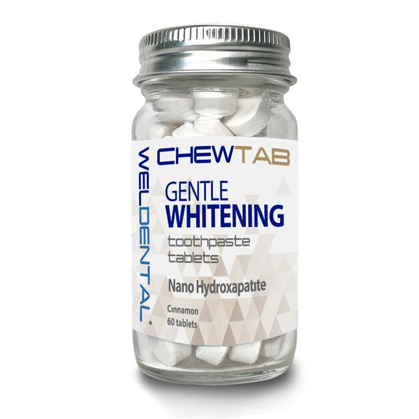 Chewtab Gentle Whitening Toothpaste Tablets with Nano Hydroxyapatite