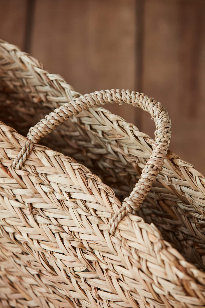 "16"" Seagrass Wall Basket"