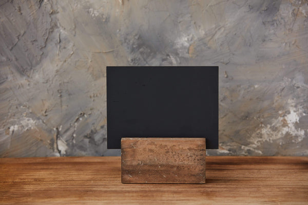 Wood Block Chalkboard
