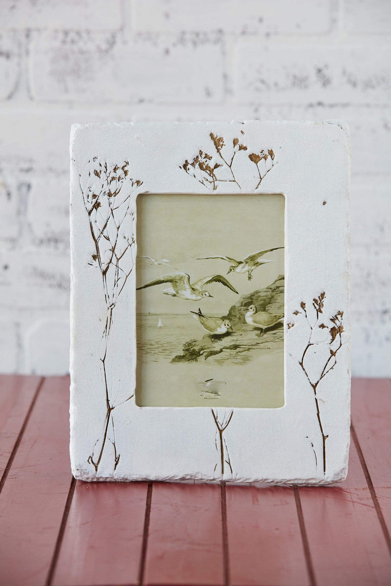 "5"" x 7"" Embossed Wildflower Frame"