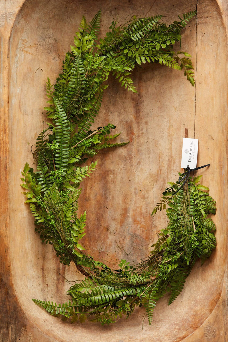 5' Mixed Fern Garland
