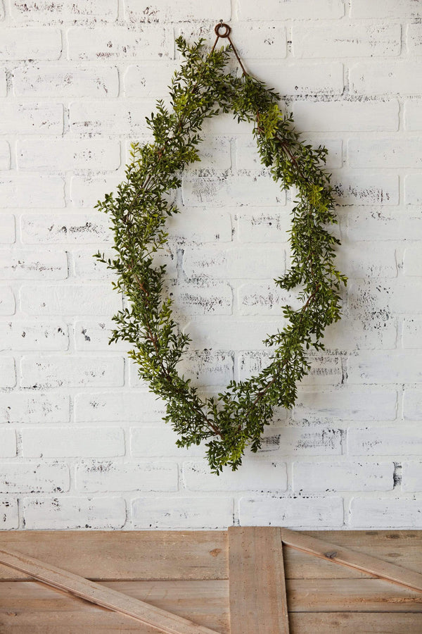 5' New England Boxwood Garland