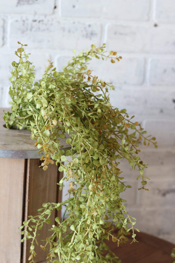 Baby Grass Draping Stem Greenery Faux Artificial Stem French Country Chic Farmhouse Chic Silk Florals Farmhouse Style Home Decor Floral Arrangement