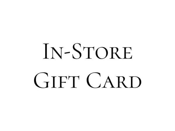 'In-Store' Gift Card