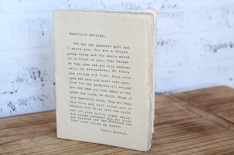 Beautiful Darling Notebook