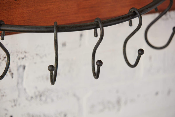 "24"" Arched 'S' Hook Rack"