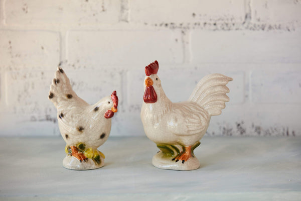"6"" Stoneware Rooster"