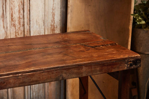 Folding Wood Wedding Table