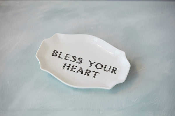 'Bless Your Heart' Stoneware Trinket Dish