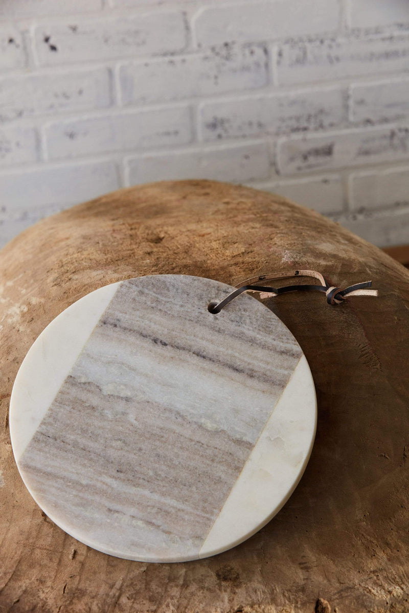 Round Marble Cheesboard