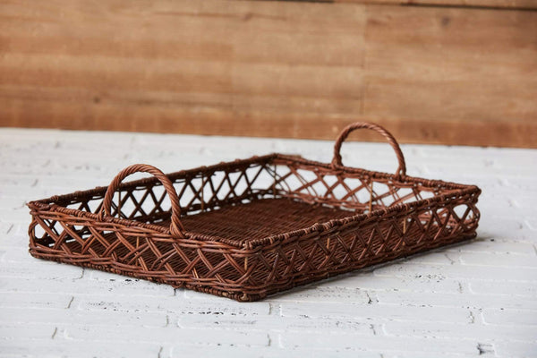 Rattan Basket Tray