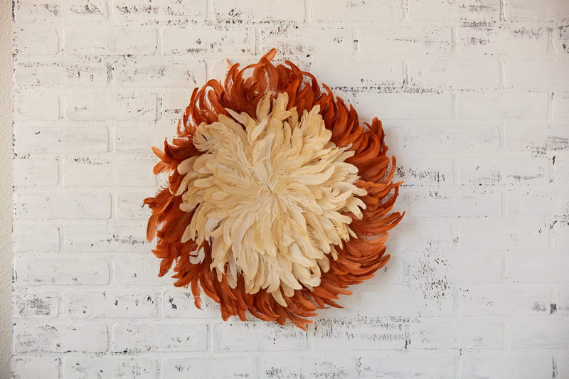Feather Wall Decor