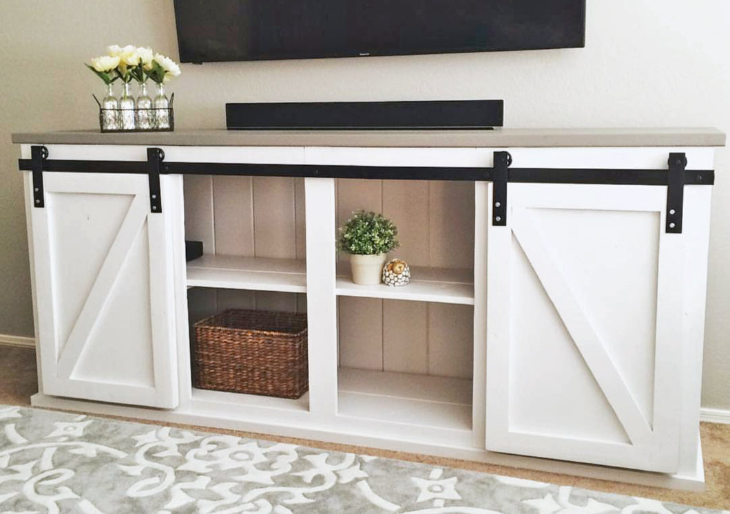 Barn Door Console Kit - 8' Length