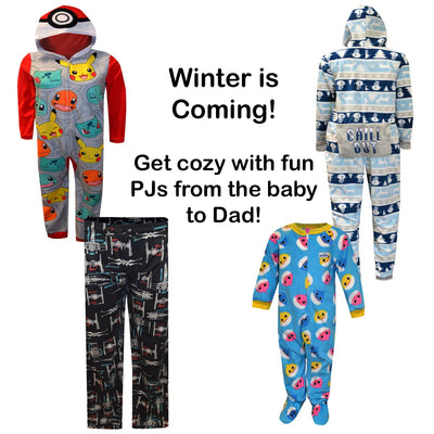 Winter is Coming! Get cozy with fun PJs