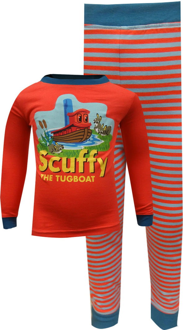 Golden Books Scuffy the Tugboat Toddler Pajamas