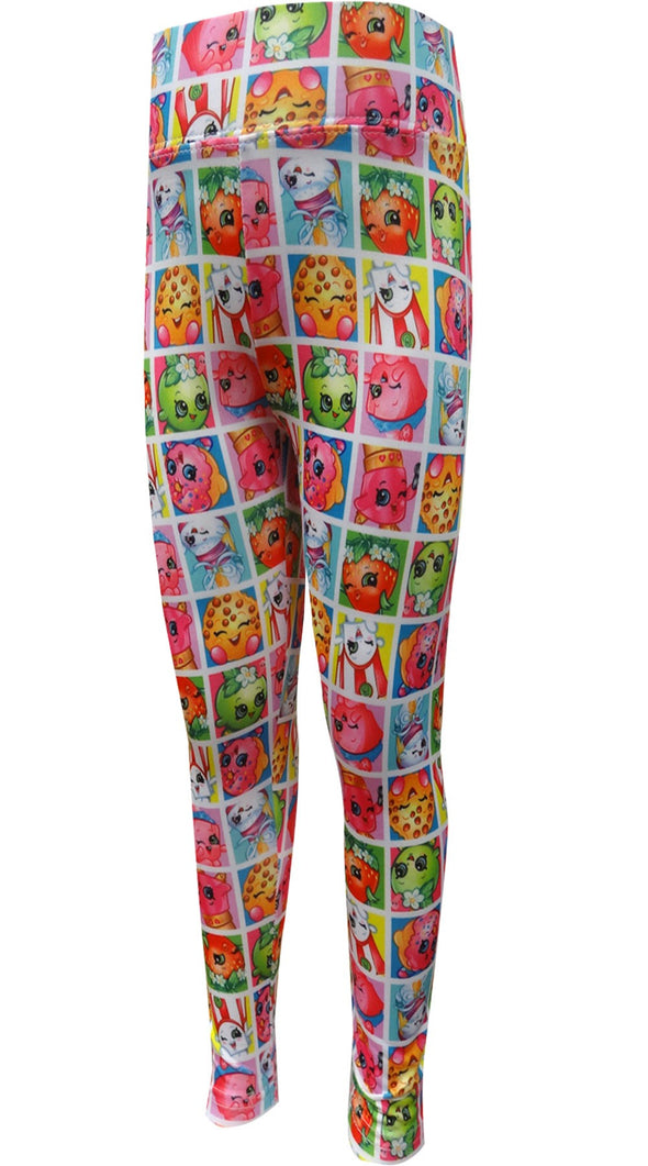 Shopkins Characters Leggings
