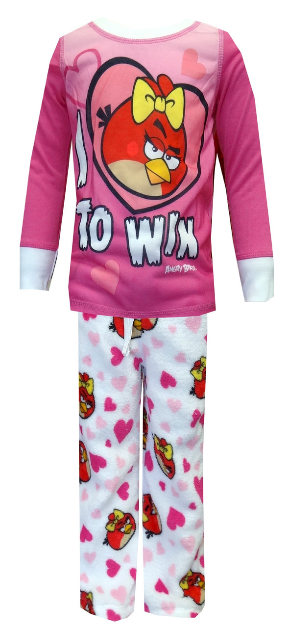 Angry Birds Be My Love To Win Cozy Pajamas