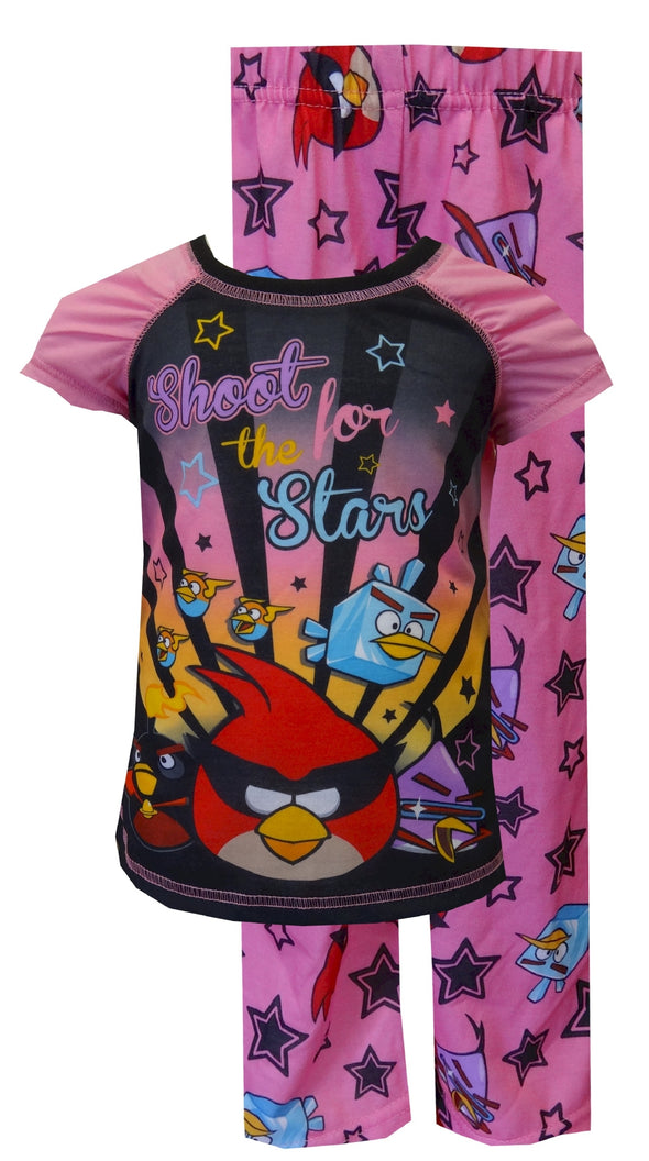 Angry Birds Rock Star Pink Pajamas