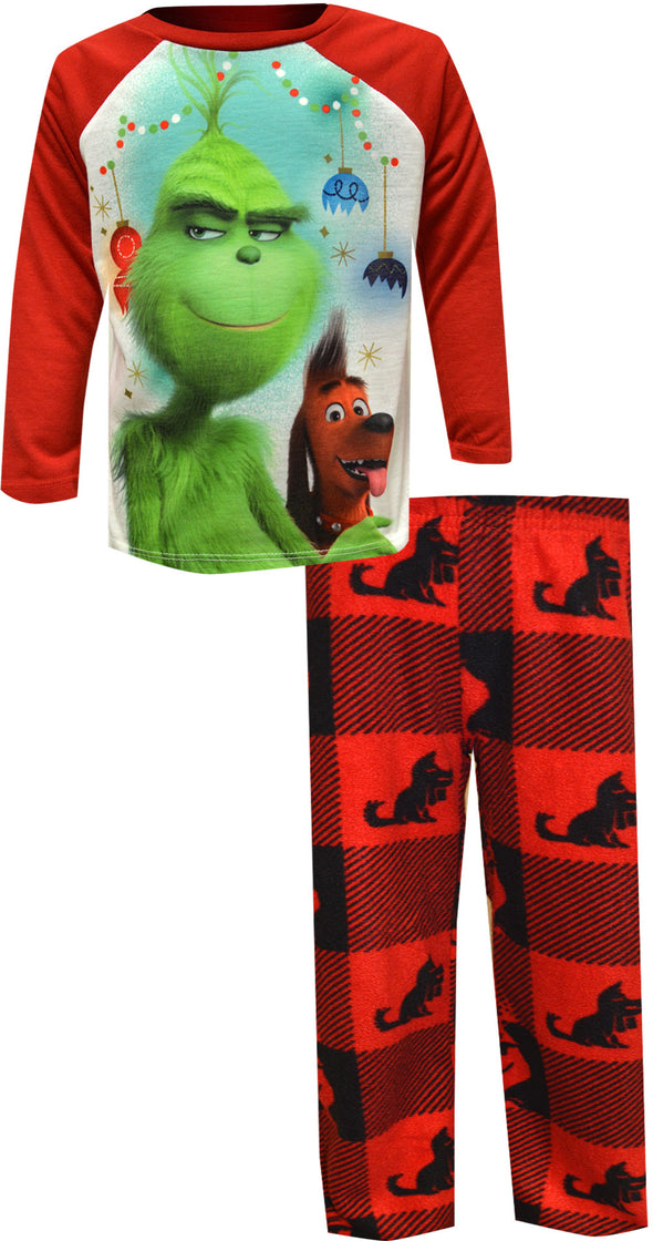 Dr. Seuss The Grinch and Max Pajamas