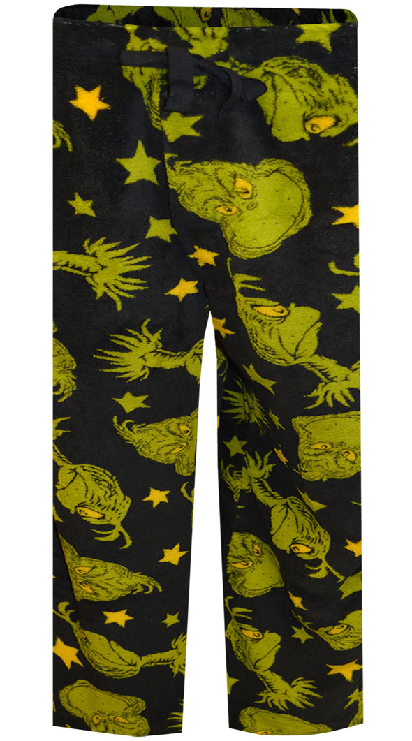 Dr. Seuss The Grinch Plush Boys Lounge Pants