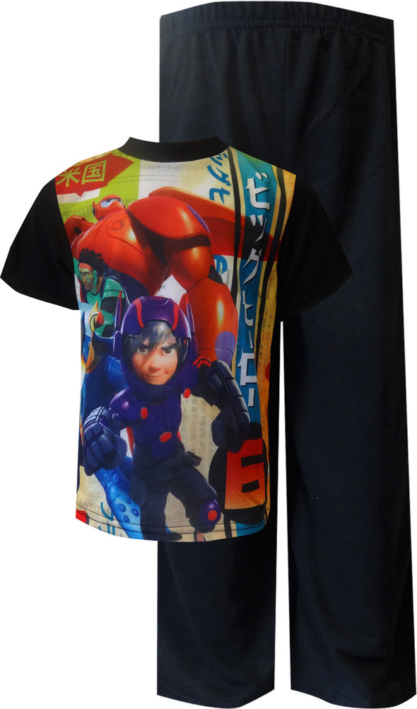 Disney Big Hero 6 Movie Hiro and Wasabi Pajama