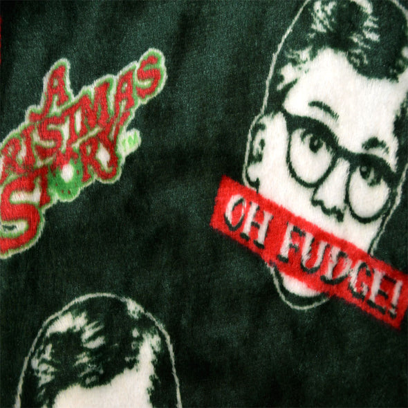A Christmas Story Oh Fudge Plush Fleece Lounge Pant