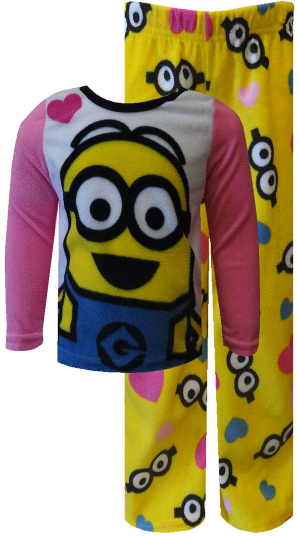 Despicable Me 2 We Love Minions Fleece Pajamas