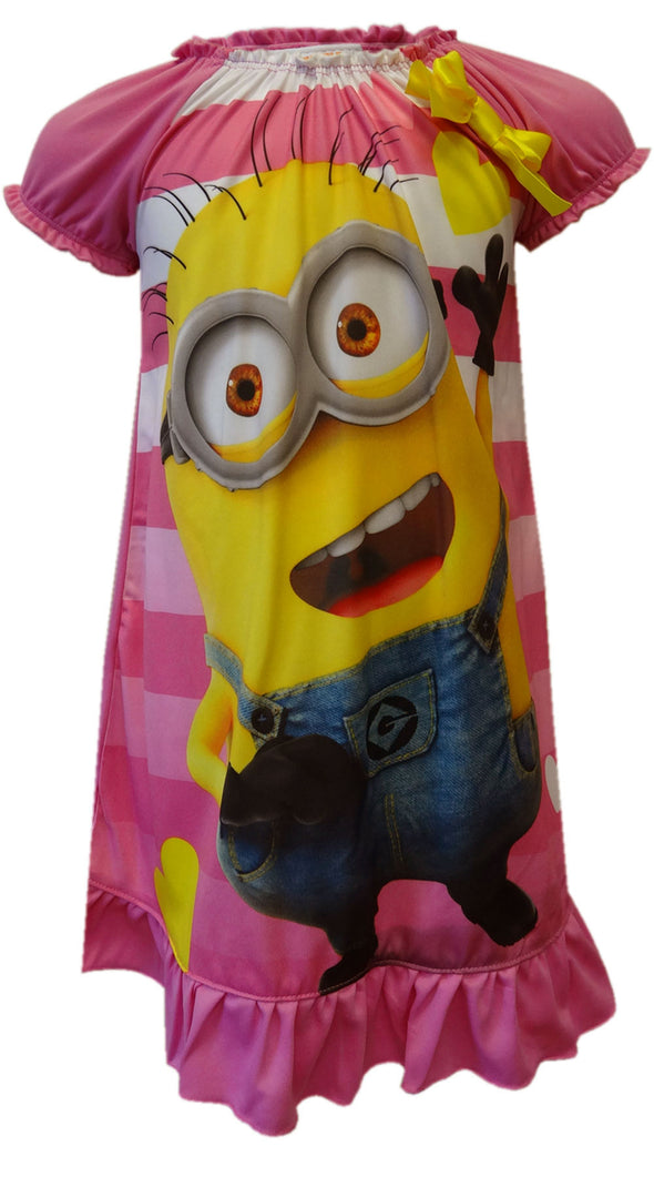 Despicable Me 2 Minions Striped Nightgown