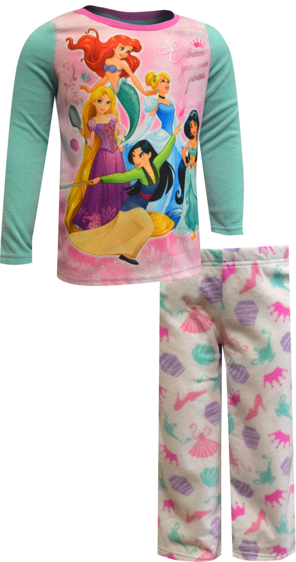 Disney Princess Embrace Your Inner Princess Cozy Fleece Pajama