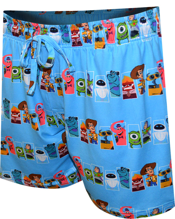 Disney Pixar Characters Collage Lounge Shorts