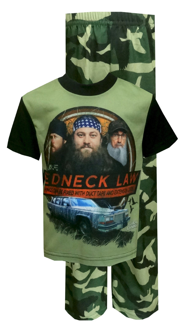 Duck Dynasty Red Neck Law Pajamas