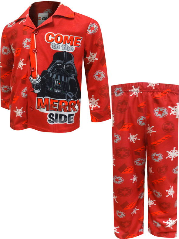 Lego Star Wars Darth Vader Come to the Merry Side Pajama