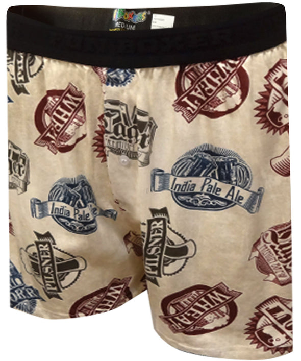 Craft Beer Lovers Boxer Shorts