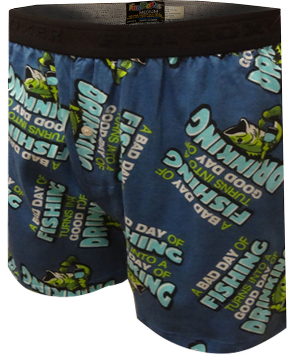Bad Day of Fishing Boxer Shorts