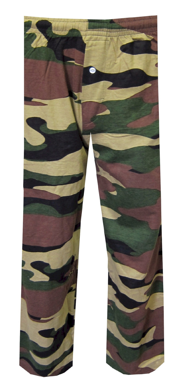 Olive Green Camo Lounge Pant