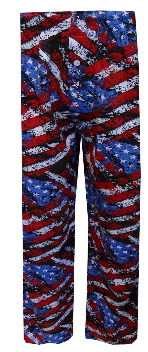Painted American Flag Lounge Pant