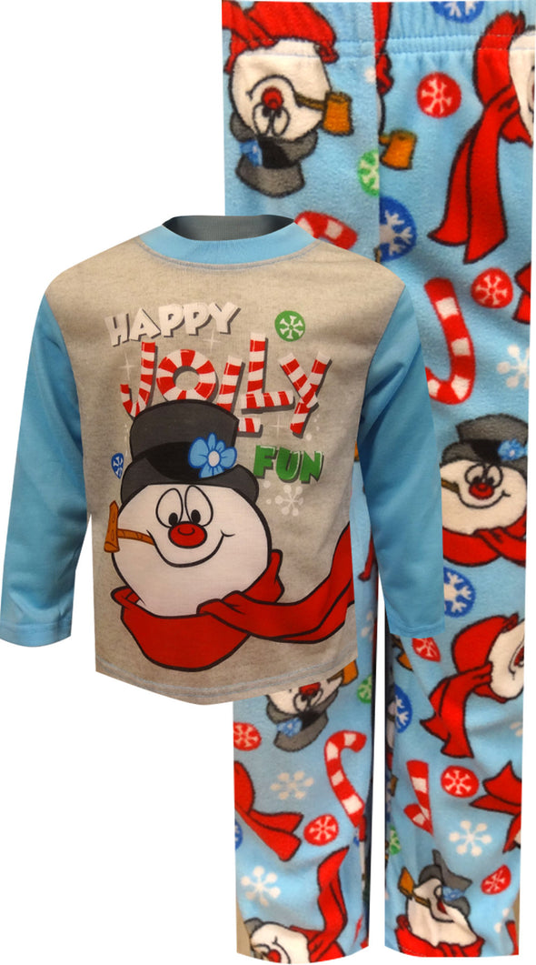 Frosty The Snowman Happy Jolly Fun Toddler Pajama