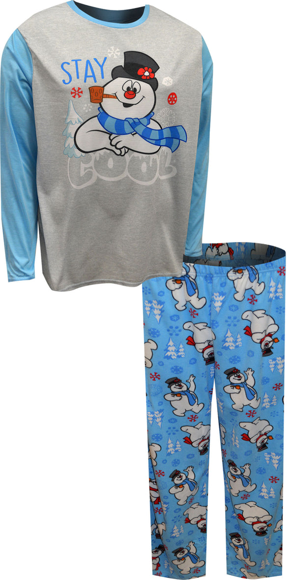 Frosty The Snowman Stay Cool Mens Pajama Set