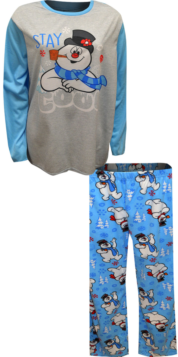 Frosty The Snowman Stay Cool  Ladies Plus Size Pajama Set
