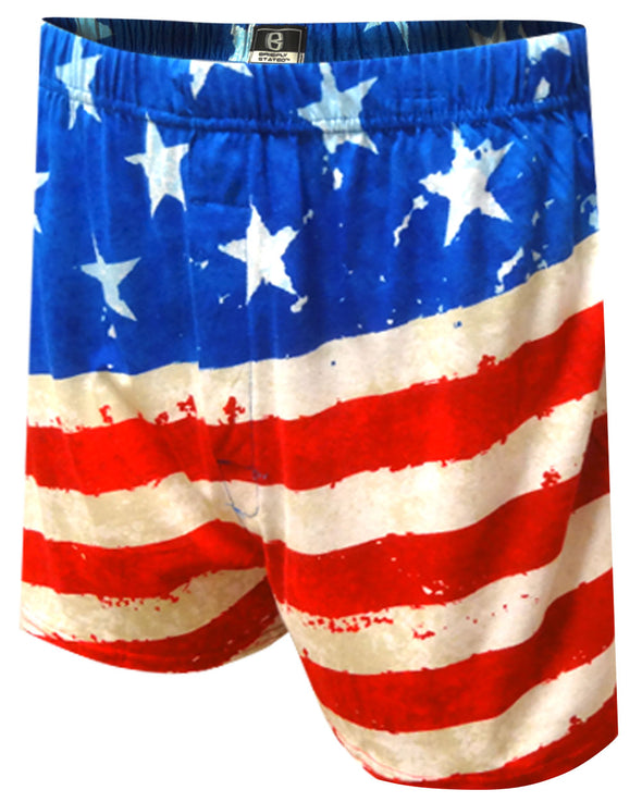 American Flag Fly The Flag Boxer Shorts
