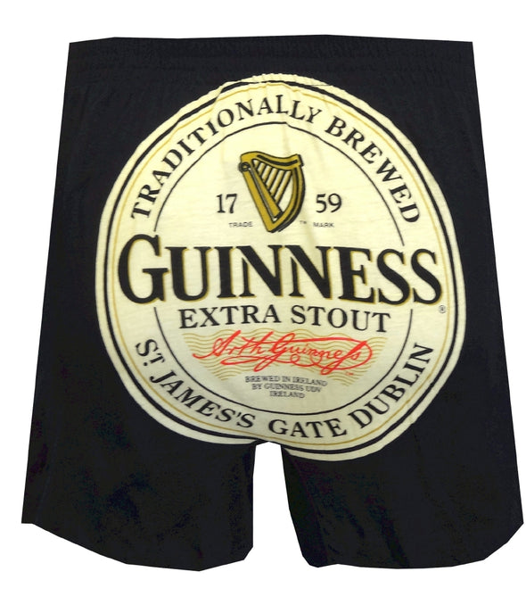 Guinness Extra Stout Trademark Label Boxers
