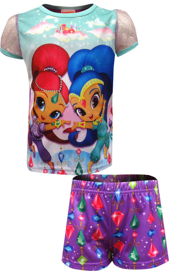 Nick Jr Shimmer and Shine Shortie Pajama