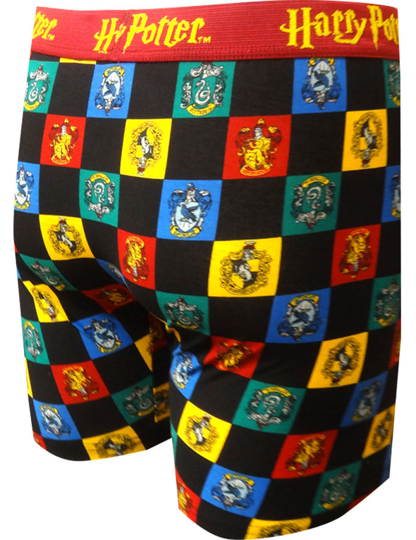 Harry Potter Hogwarts House Mascots Boxer Brief