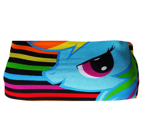 MLP Rainbow Dash Striped Bandeau Top