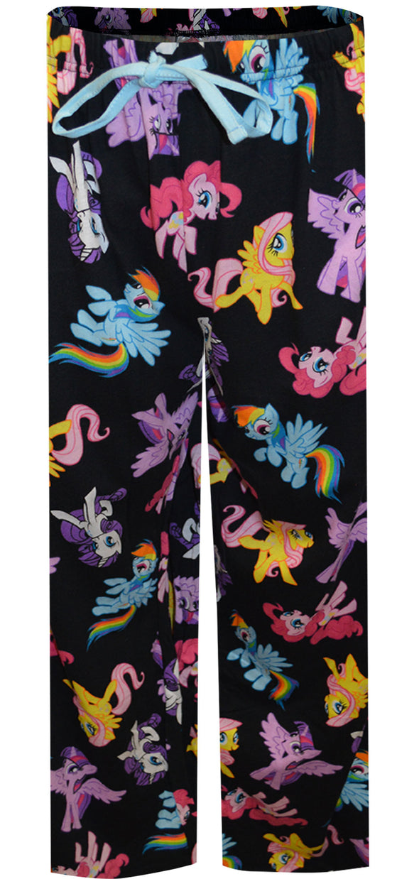 My Little Pony Rainbow Dash and Friends Plus Size Lounge Pants 3X