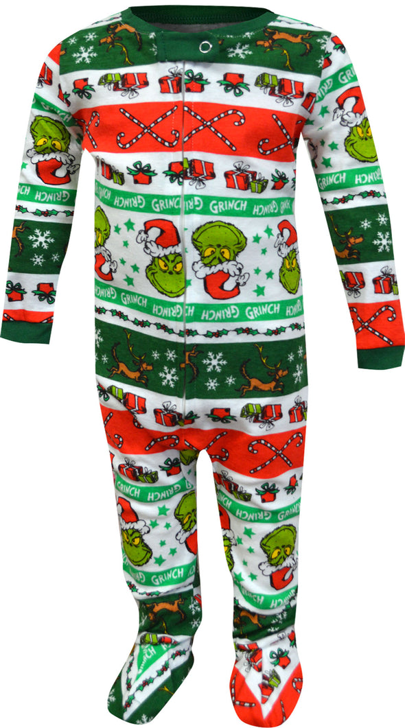 Dr Seuss Grinch Infant Onesie Pajama